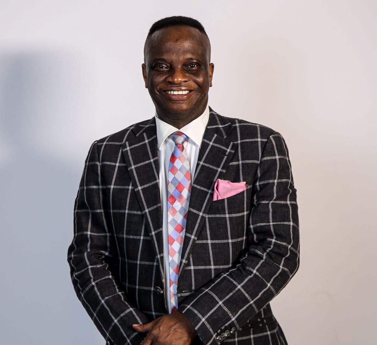 Rev. John Owusu Agyeman. Head pastor.