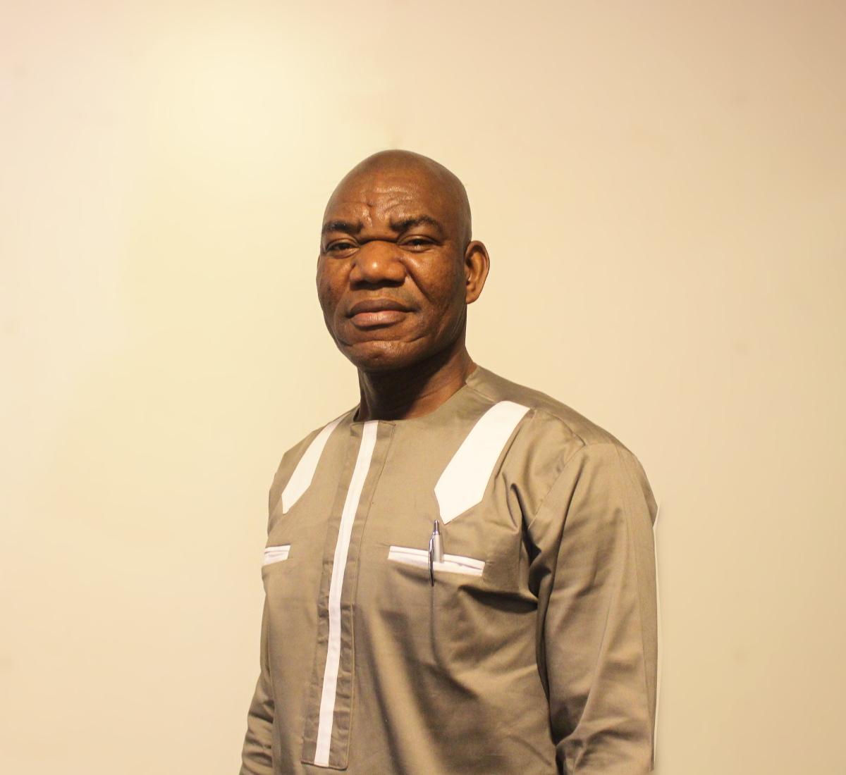 Pastor James Mensah from Holy Ghost Revival Chapel International